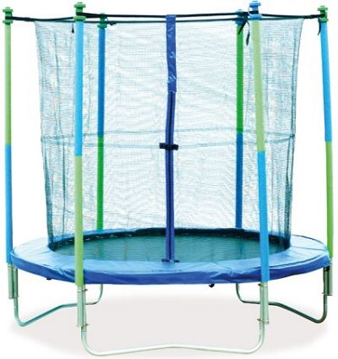 Mightymast 12ft Trampoline Set With Safety Enclosure