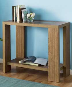 Console Beech Table