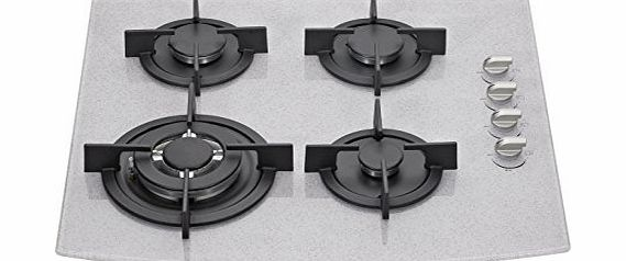 Millar  GH6041PERS 60cm Built-in 4 Burner Gas on Glass Hob / Cooker / Cooktop with FFD