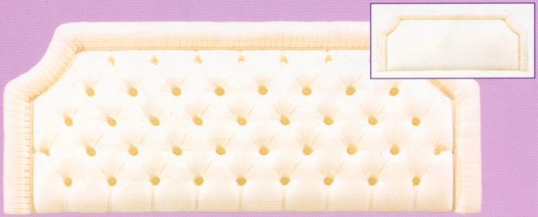 Balmoral Headboard Super Kingsize