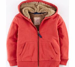 Shaggy Lined Hoody, Washed Red 34216465
