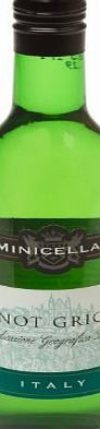 Minicellar Pinot Grigio White Wine 18.75cl Bottle - 12 Pack