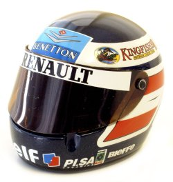 1:8 Scale Helmet - G.Berger 1996 1/8
