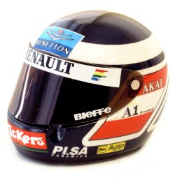 1:8 Scale Helmet - G.Berger 1997 1/8