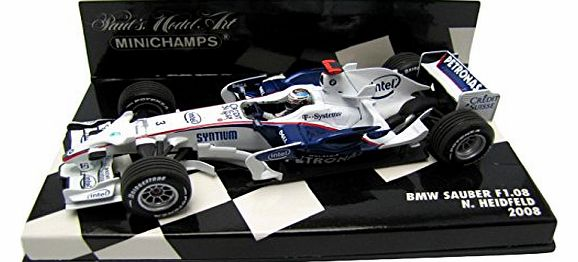 400080003 Model Car BMWSauber F1 Heidfeld 2008 1:43 Scale