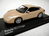 Porsche 911 Coupe 2001 in silver, minichamps 1:43 scale model car