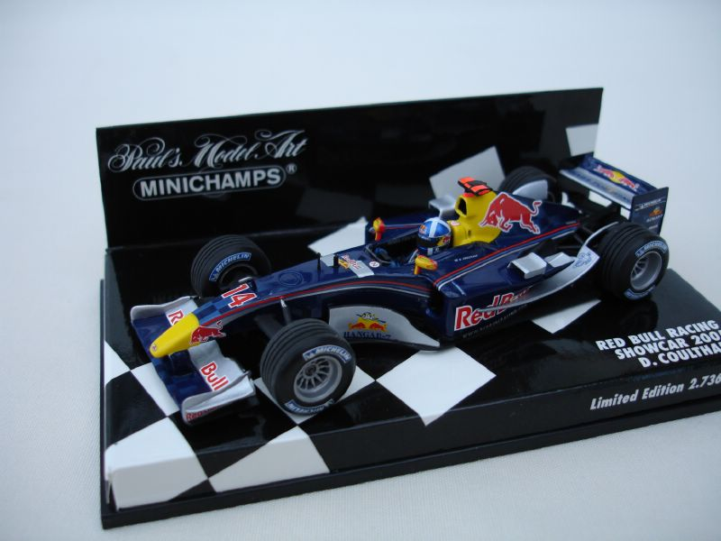 Red Bull Racing David Coulthard Showcar 2005 in