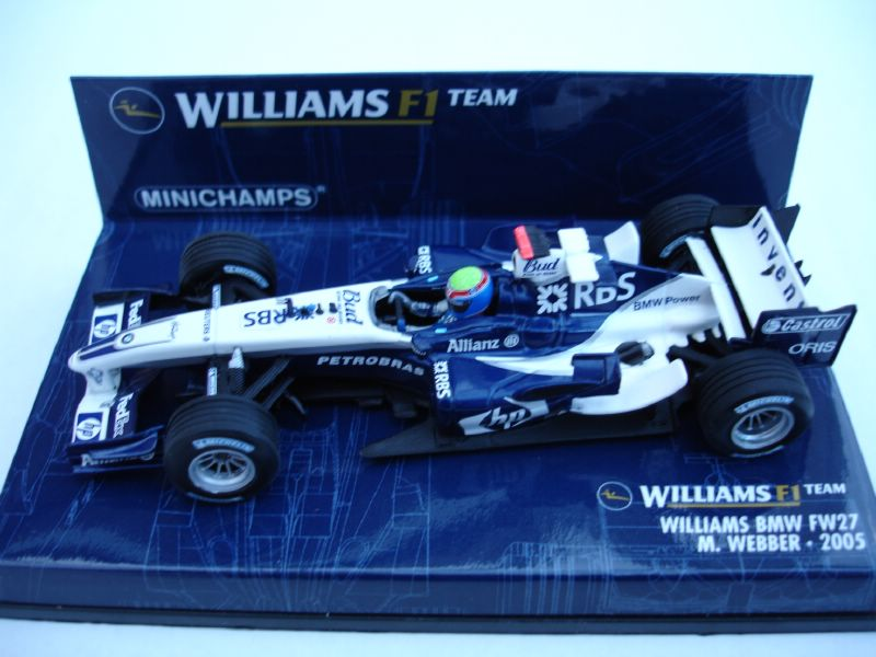 Williams BMW FW27 2005 - M.Webber in Blue/White