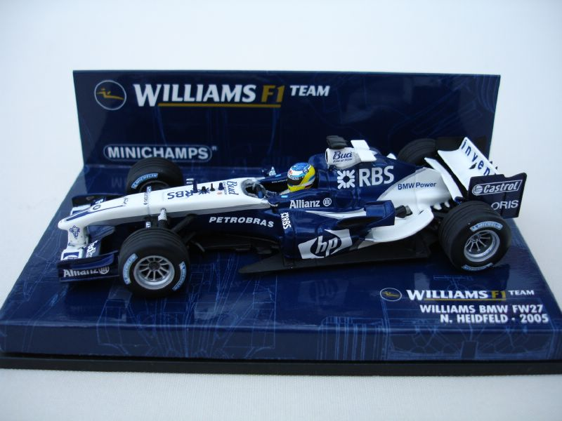 Williams BMW FW27 2005 - N. Heidfeld in Blue/White