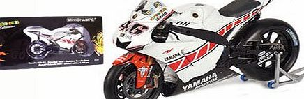 Yamaha YZR-M1 Valencia MotoGP 2005 Special Livery - Valentino Rossi 1/12 Scale Die-Cast Collectors Model