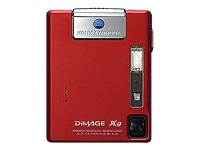 DiMage Red Xg 3.2MP 3x Optical 4x Digital Zoom (Ultra Compact)