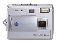 DiMage X50 5MP 2.8x Optical Zoom