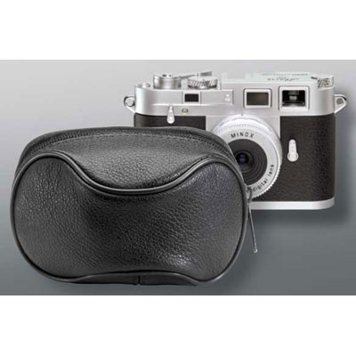 Minox Black Leather Case for DCC M3
