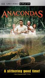 Miscellaneous Anacondas UMD Movie PSP