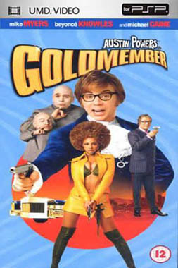 Miscellaneous Austin Powers 3 Goldmember UMD Movie PSP