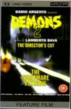 Miscellaneous Demons 2 Directors Cut UMD Movie PSP