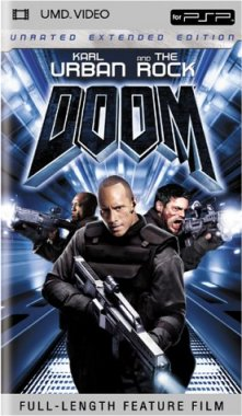 Miscellaneous Doom UMD Movie PSP