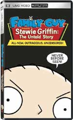 Miscellaneous Family Guy Stewie Griffin The Untold Story UMD Movie PSP