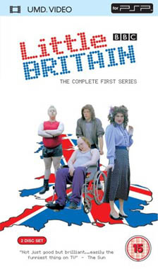 Miscellaneous Little Britain Series 1 UMD Movie PSP