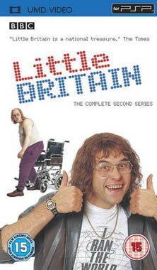 Miscellaneous Little Britain Series 2 UMD Movie PSP