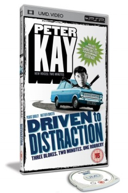 Miscellaneous Peter Kay Driven To Distraction UMD Movie PSP