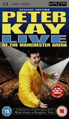 Miscellaneous Peter Kay Live At Manchester Arena UMD Movie PSP