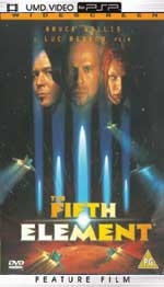 Miscellaneous The Fifth Element UMD Movie PSP