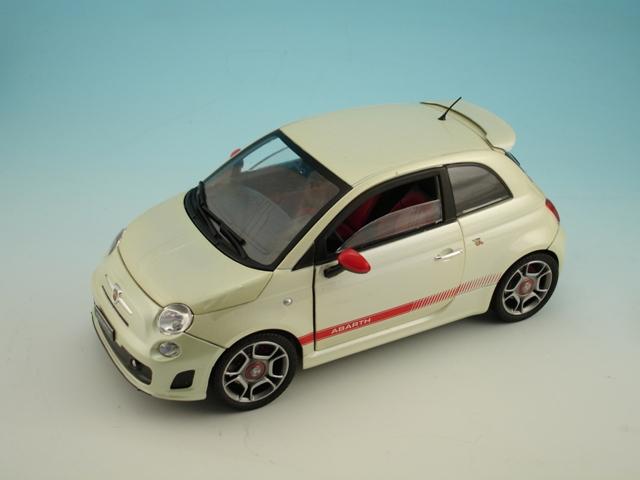 Mondo Fiat 500 Abarth 2008 White Review Compare Prices