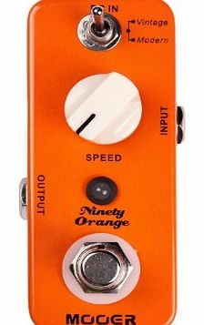 MOOER Ninety Orange Electric guitar effects Chorus - flanger - phaser...