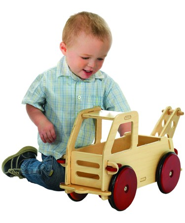 Moover Toys Natural Pick-Up Truck