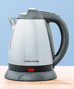 MORPHY RICHARDS Essential Titanium Polished Kettle