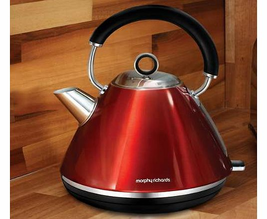 Morphy Richards Red Accents Kettle