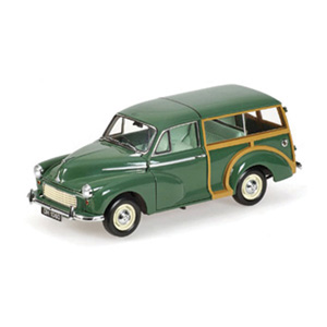 Morris Minor Traveller Green RHD