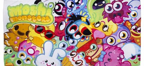 Moshi Monsters Moshi Monster Moshlings Beach Towel