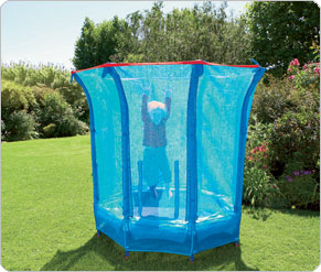 Mothercare 1.5mtr Sporty Trampoline and Enclosure