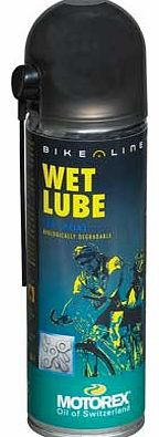 Bike Chain Wet Lube Spray - 300ml