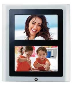 7in Dual Screen Digital Photo Frame