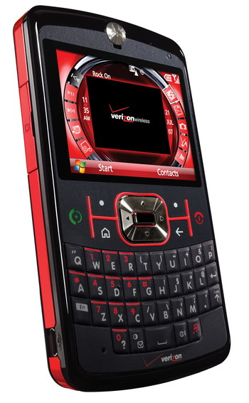 Motorola Q 9M BLACK/RED VERIZON CDMA (SMART PHONE)
