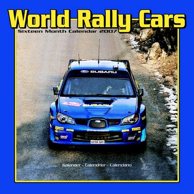 Motorsport World Rally Cars 2006 Calendar