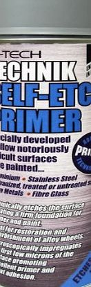 Technik Self-Etch Primer (Allows difficult motorbike & car surfaces such as metals, glass, steel trims, aluminium, engine, alloy wheels etc to be painted)