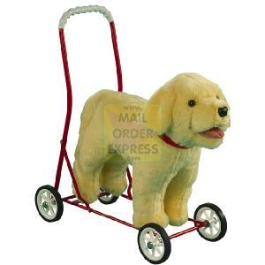 Mulholland & Bailie Mulholland and Bailie 20 50cm Handle Labrador Pushalong
