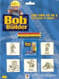 5 Wood Backed Rubber Stamps Bob the Builder