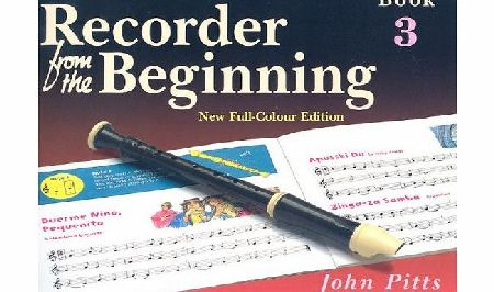 Music Sales Recorder from the Beginning: Pupils Book Bk. 3