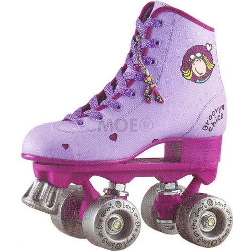Bang On the Door Groovy Chick Quad Skates Size 3