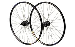 M:Part - Deore Disc/Mavic XC717 Disc Black 32 Rear Wheel