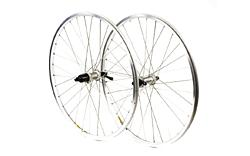 M:Part - Deore/Mavic X221 Silver 32 Hole Front Wheel