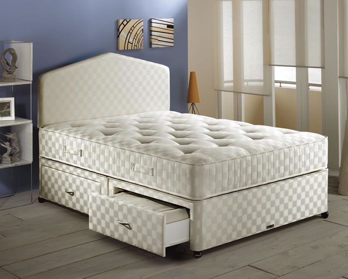 Myer s beds blenheim 4ft small double divan bed review for Small double divan bed and mattress