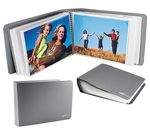 myPIX Basic 200 Photo Album with pockets - grey (11x15cm)