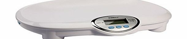 Great Value Baby Scale 44lb/20Kg x 5g EBSC ABS Plastic LCD Professional Baby/Pet Scale with Memory