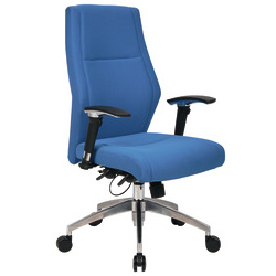 n/a London exec operator office chair blue